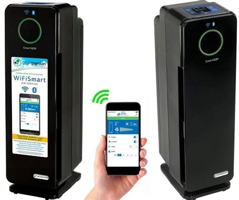 best buy germguardian wifi smart air purifier 99 99 today only 2 14