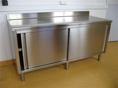 mobilier meubles rangement de cuisine inox dsee17