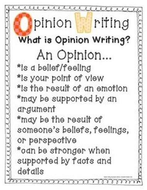 Opinion Essay by Opinion Writing Mr Raddish S 4th Grade Classroom