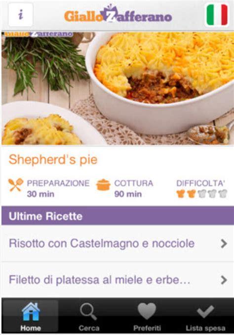 Cucina Italiana Giallo Zafferano giallozafferano le ricette della cucina italiana per