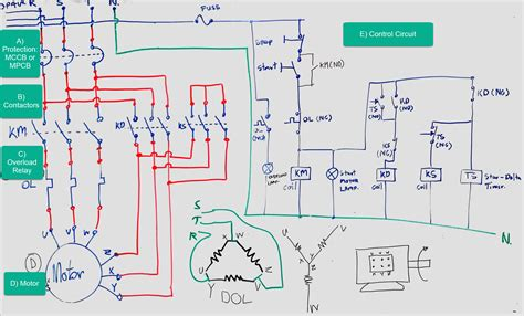 How To Wire A Delta Star Motor Wiring Diagram