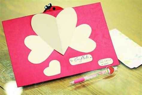 cara membuat kartu ucapan hari ibu yuk buat kartu valentine unik ini tutorial lain lain