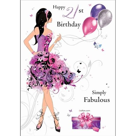 imagenes de happy birthday beautiful lovely e card 21st birthday wishes for fabulous