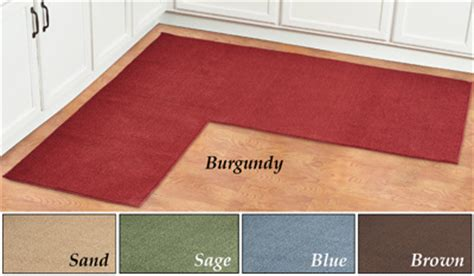 Corner Kitchen Rug Corner Kitchen Rug Berber Corner Runner Textured Kitchen Rug With Non Skid Bungalow Flooring