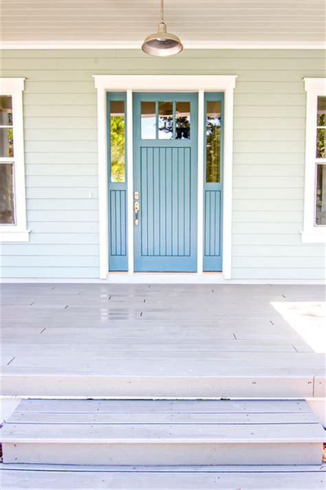 Sherwin Williams Beach House front doors beach style entry jacksonville by