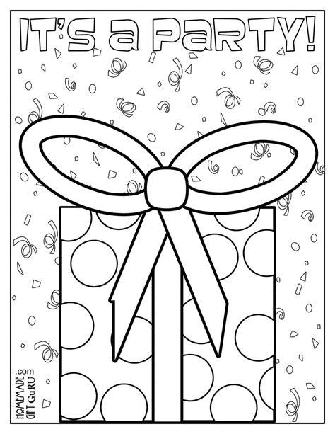 birthday greeting cards birthday coloring cards free