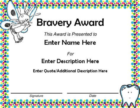 bravery certificate template imts2010 info