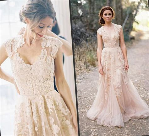 Peach Wedding Dress Image collections   Wedding Dress, Decoration And Refrence