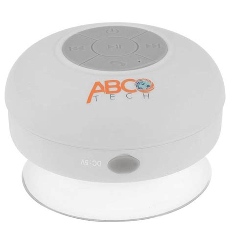 Waterproof Wireless Bluetooth Shower Speaker by Waterproof Speakers For Shower The Splash Tunes Pro A