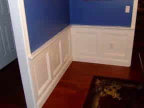 Faux Raised Panel Wainscoting - planning amp ideas wainscot trim ideas wainscoting bathroom beadboard wainscoting wainscoting
