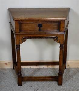 small side table with drawer antiques atlas small oak side table with drawer