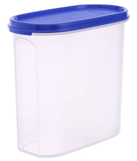 Tupperware Kitchen Set Price In India by Tupperware Mm Oval Plastic Container Set Of 4