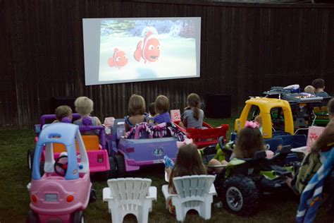 backyard drive in the krauska family blog backyard drive in movie gogo papa