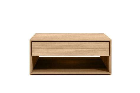 table basse oak nordic d ethnicraft 1 tiroir 1 tiroir