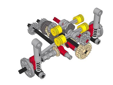 technic porsche engine funfen0 s technic porsche indep susp w 4 cyl engine