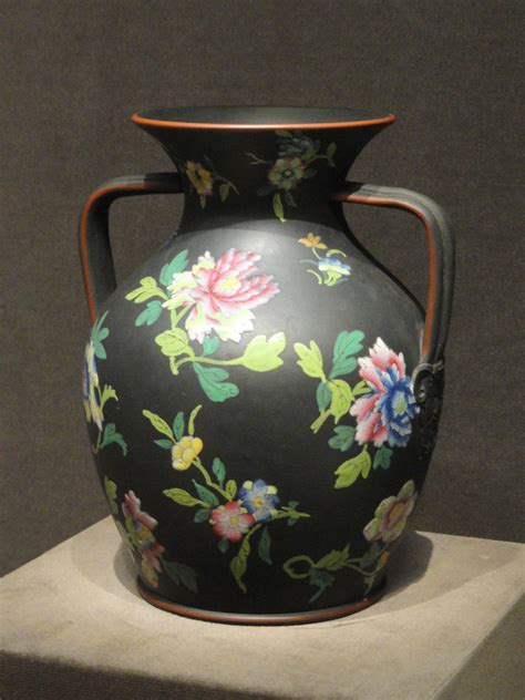 Wedgwood Vase Patterns by File Chrysanthemum Pattern Vase About 1804 1810 Josiah