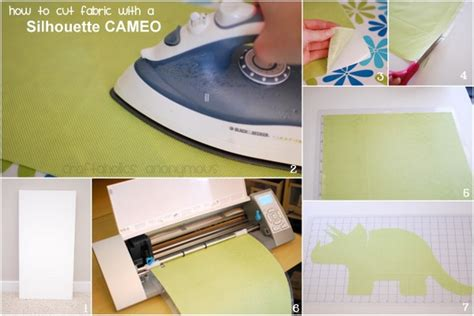 Blademanual Blade Untuk Silhouette Cameo 23 cutting fabric with a silhouette
