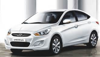 new verna car hyundai verna white 2012