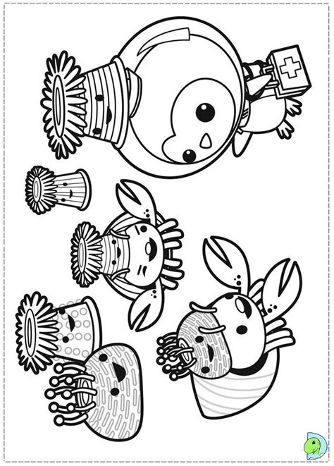 disney junior octonauts coloring pages coloring pages