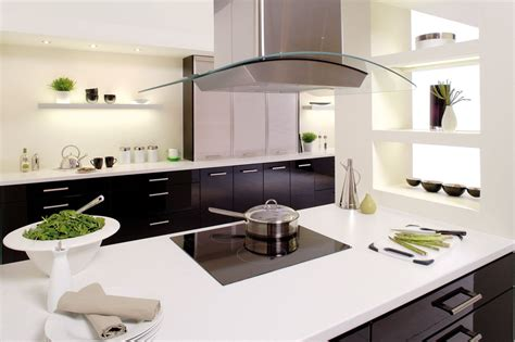 Modern Island Kitchen Monochrome Kitchens Betta Living