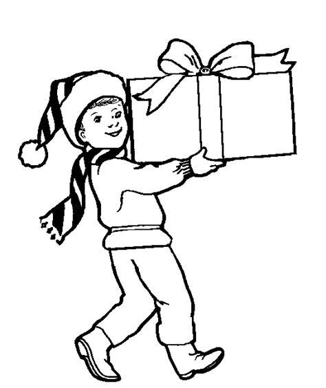 imagenes de navidad para colorear regalos dibujos para colorear de regalos de navidad plantillas