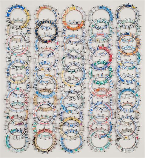 Wedding Band Quilt by Ross Palmer Beecher Greg Kucera Gallery Seattle
