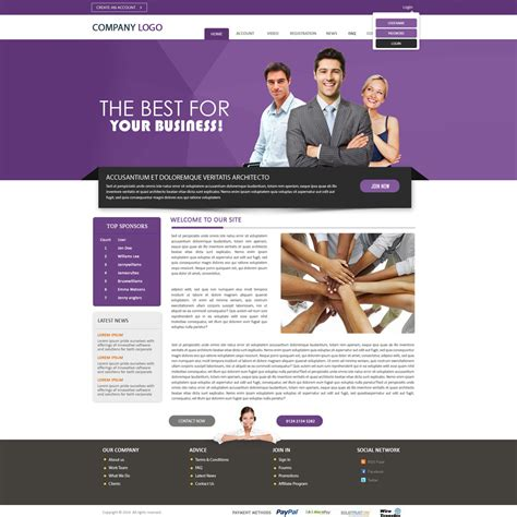 templates for mlm business exelent website design templates crest exle resume