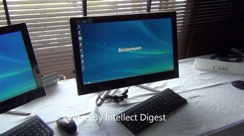 Desk Top Computer Reviews Lenovo All In One C440 Desktop Computer Review