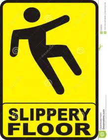 slippery floor sign royalty free stock images image 8340959