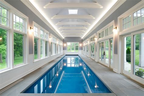 indoor lap pool indoor pool traditional pool new york by crisp