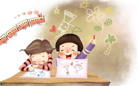 imagenes infantiles niños escuela fondos y postales fondos de ni 241 os