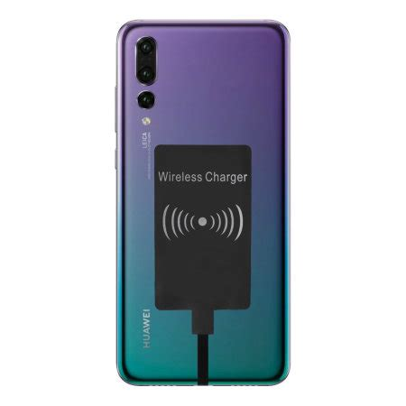 huawei p pro ultra thin qi wireless charging adapter