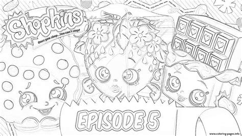 coloring book ep shopkins episode 5 coloring pages printable