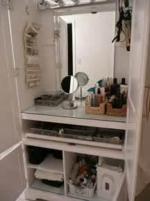 diy station diy makeup station beauty make up pinterest