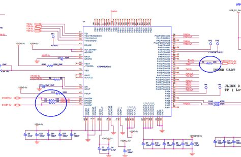 what do pull resistors do microcontroller why does atmel use 39r pull resistor electrical engineering stack exchange