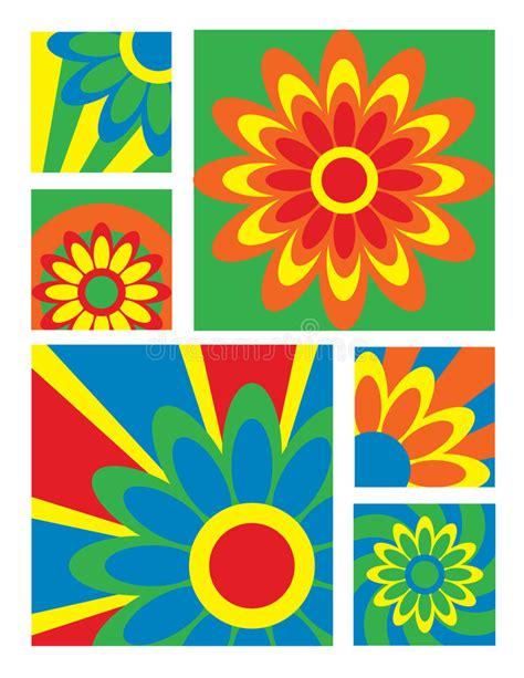 fiore collection fiore collection bright illustrazione vettoriale