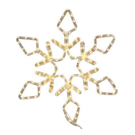 hanging snowflake lights shop vickerman 4 ft hanging snowflake light display with