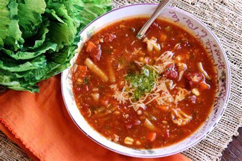 Panera Bread Garden Vegetable Soup Vegetarian Pesto Soup Recipe