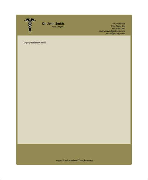 professional stationery templates free letterhead templates 7 free pdf word document