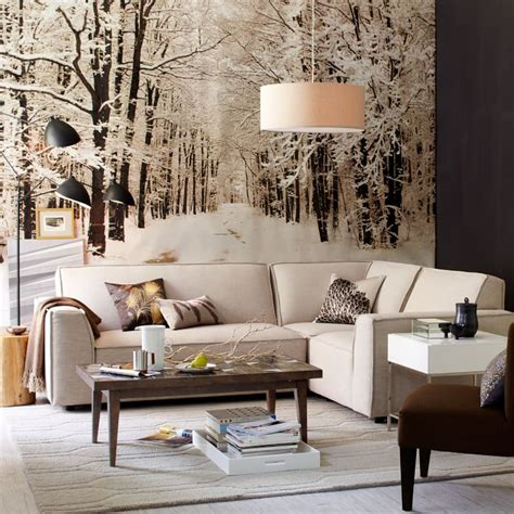 artwork for living room walls 11 stylish wall murals for this winter pretty designs