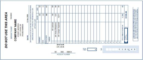 deposit slip template bank of america printable deposit slip autos weblog