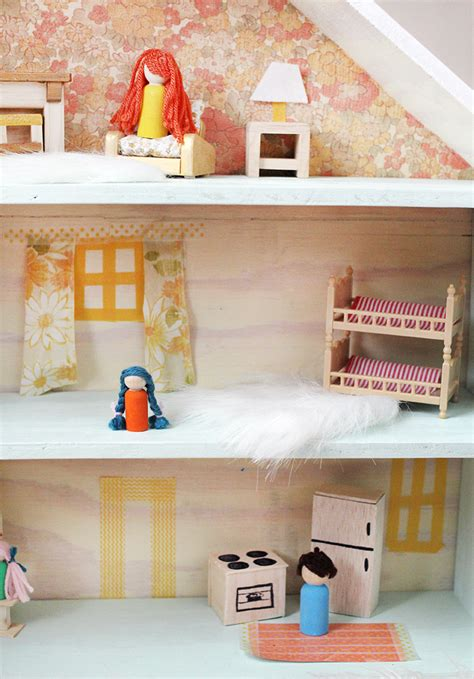 how to build a dollhouse a beautiful mess