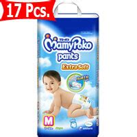 Mamy Poko Soft M 34 For Boys Mamy Poko Soft With Roll Up Size M