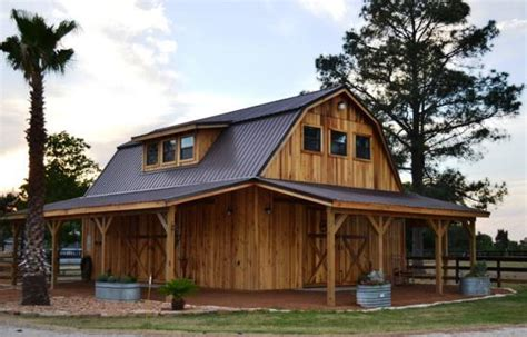Gambrel Roof Pole Barn by 1 Pole Barn Plans Gambrel Roof 12 215 14 Shed Plans Free