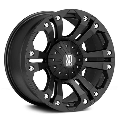 xd black 18 quot wheels w 33x12 50x18 nitto tires ebay