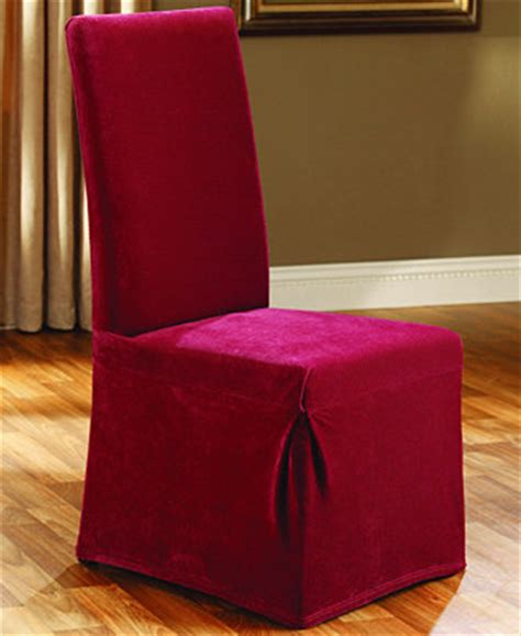 Sure Fit Stretch Dining Chair Covers Sure Fit Stretch Pique Dining Room Chair Slipcover Slipcovers For The Home Macy S