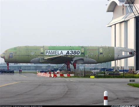 Home Plane by Pamela Scrapping The Giant Airbus A380 Static Test