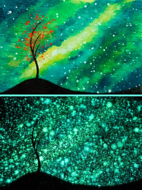 glow in the painting tree glow tree by funkblast on deviantart