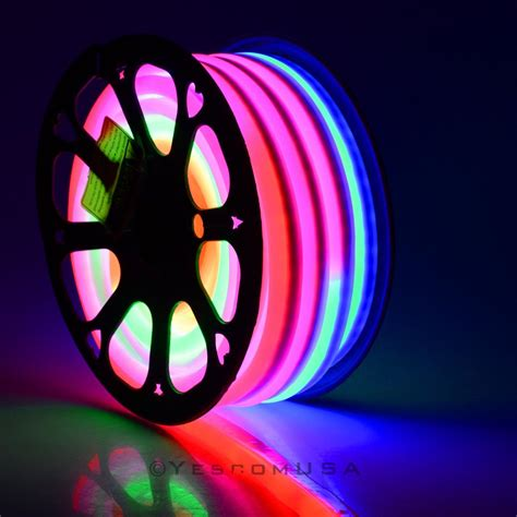 Neon Rope Light by 50ft Led Flex Neon Rope Light In Outdoor