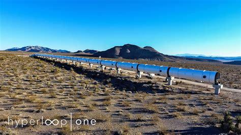 hyperloop  offers  proper glimpse   nevada test site